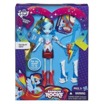 My Little Pony A7250 Equestria Girls Rainbow Dash z Gitarą