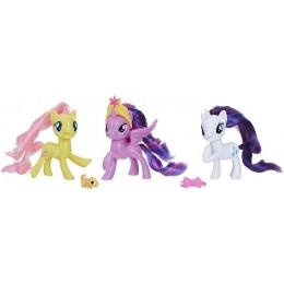My Little Pony – Zestaw figurek Equestria: Fluttershy, Twilight Sparkle i Rarity E0172