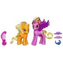 My Little Pony A2658 Crystal - Księżniczki - Princess Cadance i Applejack