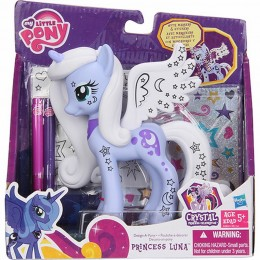 My Little Pony A4264 Crystal - Princess Luna do stylizacji