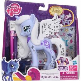 My Little Pony A4264 Crystal - Princess Luna do stylizacji