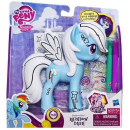 My Little Pony A1386 Crystal - Rainbow Dash do stylizacji
