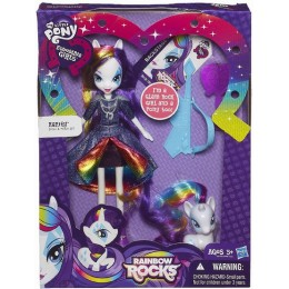 My Little Pony A6776 Equestria Girls Rock - Rarity z kucykiem
