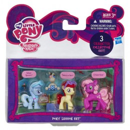 My Little Pony A4361 3 Mini Kucyki - Silver Spoon, Twist-a-loo,  Cheerilee