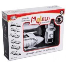 MALBLO – Klocki magnetyczne – Pojazdy kosmiczne 0318