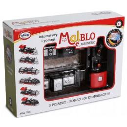 MALBLO – Klocki magnetyczne – Pociągi i lokomotywy 0320