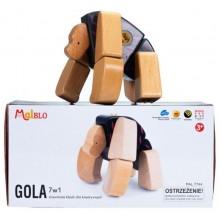 MALBLO – Drewniane klocki modułowe 7w1 – Gola 7744