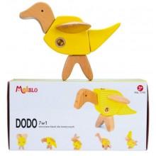 MALBLO – Drewniane klocki modułowe 7w1 – Dodo 7745