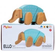 MALBLO – Drewniane klocki modułowe 7w1 – Ello 7746
