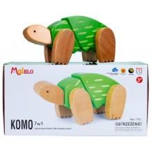 MALBLO – Drewniane klocki modułowe 7w1 – Komo 7751