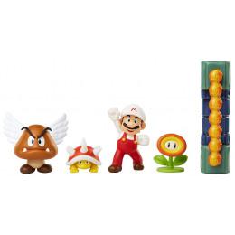 Super Mario – Zestaw figurek Lava Castle - 40015