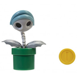 Super Mario – Figurka Piranha Plant 10 cm + moneta – 40312
