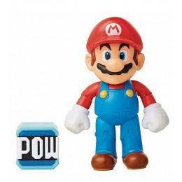 Super Mario – Figurka Mario 10 cm + blok mocy Pow – 72687