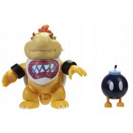 Super Mario – Figurka Bowser Jr 10 cm + bomba – 91446