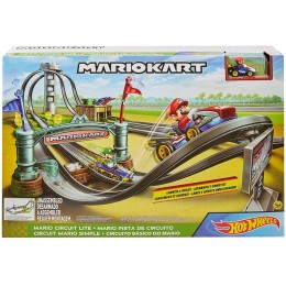 Super Mario – Hot Wheels - Mariokart - Tor wyścigowy Mario Lite GHK15