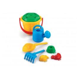 Marioinex - Zabawki do piasku - Wiaderko z konewką Fala 90056