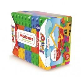 Marioinex - Klocki Cegły - Zestaw 60 elementów konstrukcyjnych 90170