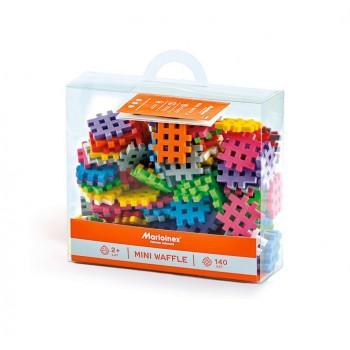 Marioinex - Klocki Mini Wafle - Zestaw 140 elementów konstrukcyjnych - 90213