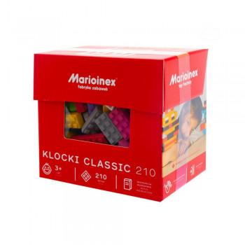 Marioinex - Klocki Classic - Zestaw 210 elementów konstrukcyjnych - 90285