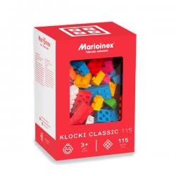 Marioinex - Klocki Classic - Zestaw 115 elementów konstrukcyjnych - 90286