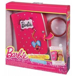 Mattel BARBIE BLM01 Stylowy Pamiętnik z bransoletką