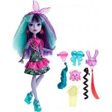 Monster High DVH71 Zelektryzowane fryzury Lalka Twyla