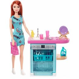 Barbie - Zestaw mebli kuchennych - FXG35