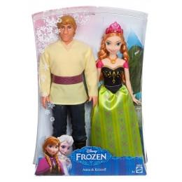CMT82 Frozen Lalka Anna i Kristoff