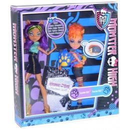 Monster High X5227 Dwupak Clawdeen Wolf i Howleen Wolf