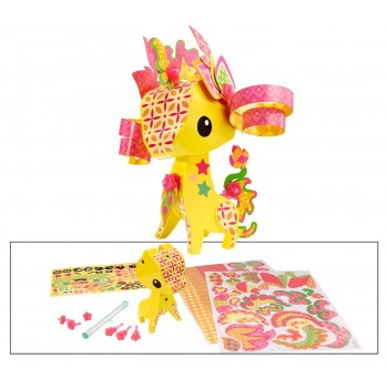 Mattel AmiGami BLV35 Żółta Żyrafa