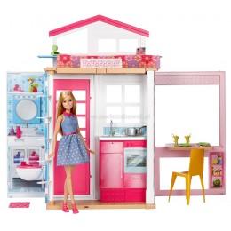 Barbie Domek dla lalek + lalka DVV48