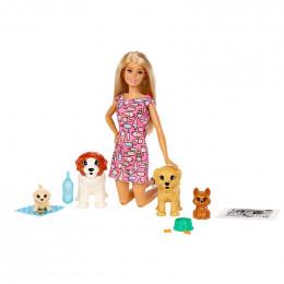 Lalka Barbie – Zestaw Opiekunka piesków – FXH08