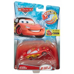 Cars Auta Zmieniające Kolor DHF46 Lightning McQueen Czarny