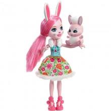 Enchantimals DVH88 Lalka Bree Bunny i Twist