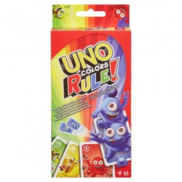 Mattel - Gra karciana Uno Kolory rządzą! - DWV64