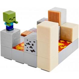 Minecraft DWV75 Zestaw z minifigurką Piston Push