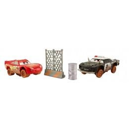 CARS AUTA DYB13 Zwariowana ósemka - Dwupak: Zygzak McQueen i APB DYB14