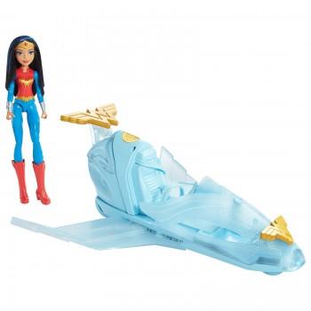 DC Super Hero Girls - DC Comics - DYN05 Niewidzialny odrzutowiec Wonder Woman