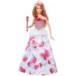 Barbie Dreamtopia Kraina Słodkości - DYX28 Lalka Księżniczka - Magiczne Melodie