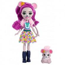 Enchantimals - Lalka Mayla Mouse i myszka Foundue - FXM76