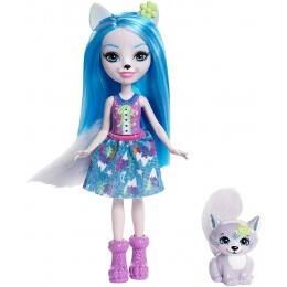 Enchantimals - Lalka Winsley Wolf i wilk Trooper - FRH40
