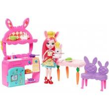 Enchantimals - Wesoła kuchnia Bree Bunny i królik Twist - FRH47