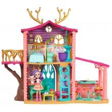 Enchantimals - Przytulny domek Danessy Deer i jelonka - FRH50