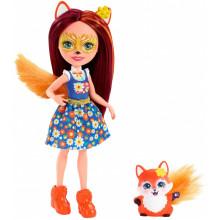 Enchantimals - Lalka Felicity Fox i lisek Flick - FXM71