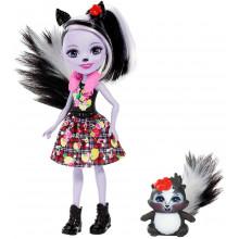 Enchantimals - Lalka Sage Skunk i skunksiczka Caper - FXM72