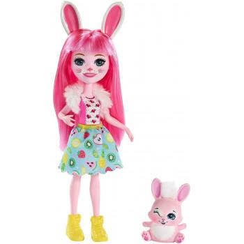 Enchantimals - Lalka Bree Bunny i Twist - FXM73