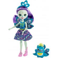 Enchantimals - Lalka Patter Peacock i paw Flap - FXM74