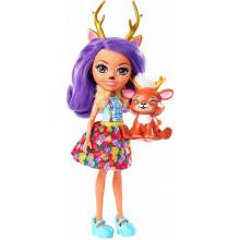 Enchantimals - Lalka Danessa Deer i jelonek Sprint - FXM75