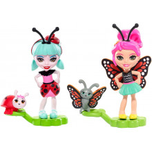 Enchantimals - Bug Buddies Figurki - Ladelia Ladybug i Baxi Butterfly FXM87