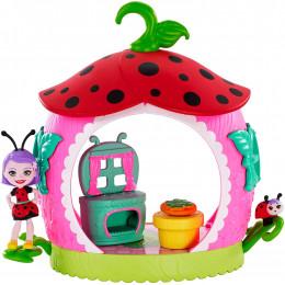 Enchantimals - Domek Ladelii Ladybug i biedronki Vine - Kuchnia FXM98
